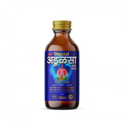 Sheetal Herbal Adulsa Cough Syrup