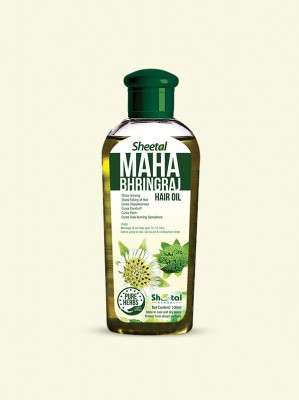 Sheetal Herbal Maha Bhringraj Oil