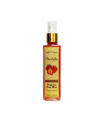 Ayurshakha Naturals Perfumed Body Mist Seductive Berry