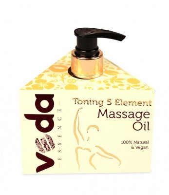 Veda Essence Toning 5 Element Massage Natural & Pure Oil