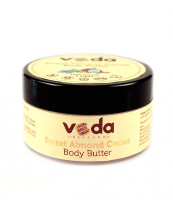 Veda Essence  Natural & Pure Sweet Almond Cocoa Body Butter