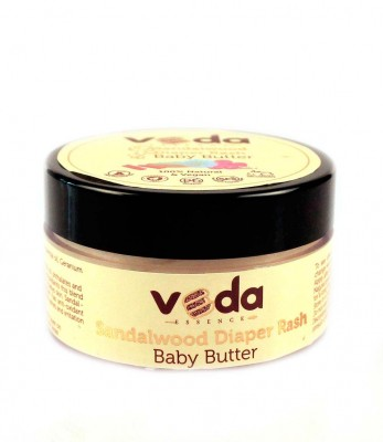 Veda Essence Natural And Pure Sandalwood Diaper Rash Baby Butter