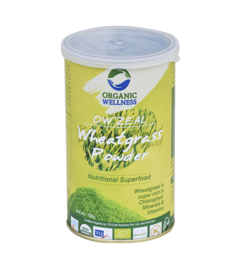 Organic wellness Zeal Wheat Grass Powder