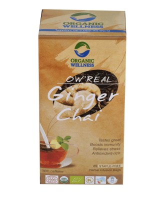 Organic Wellness Real Ginger Chai