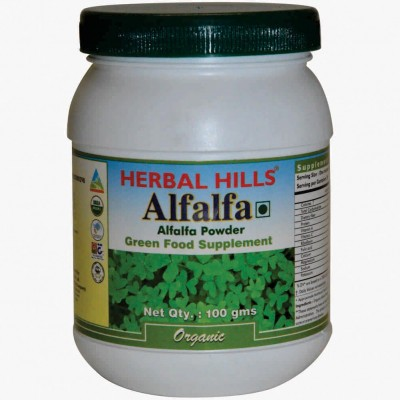 Herbal Hills Alfalfa 100 gm Powder