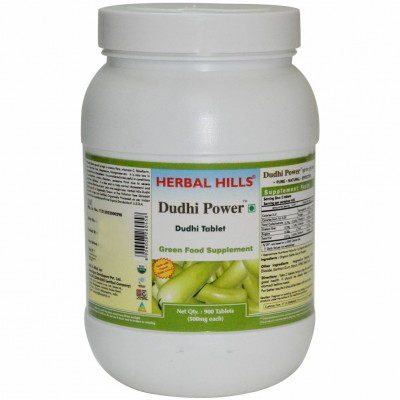 Herbal Hills Dudhi Power - Value Pack 900 Tablet