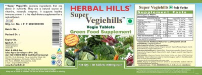 Super Vegiehills 60 Tablets
