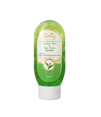 Globus Remedies Green Tea  Teatree Face Wash