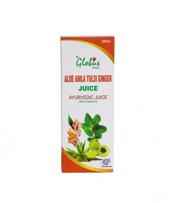 Globus Remedies Aloe Amla Tulsi Ginger Juice