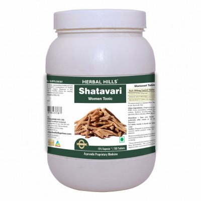 Herbal Hills Shatavari 700 Tablets - Value Pack