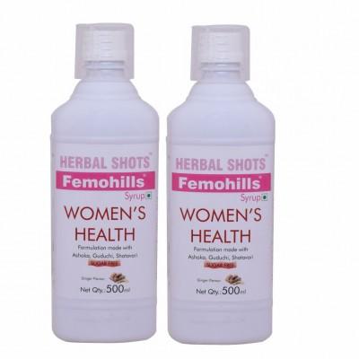 Femohills Herbal Shots 500ml (Pack of 2)