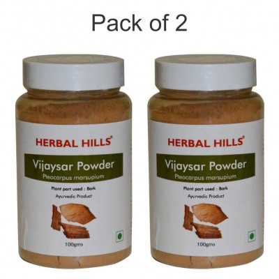 Vijaysar powder - 100 gms - Pack of 2