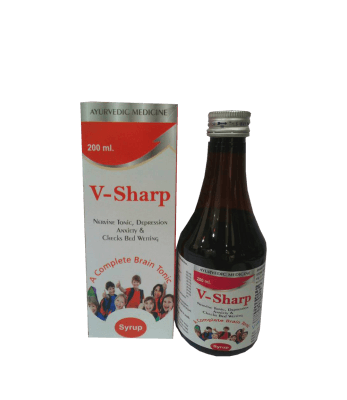 V Revive  Medicure Sharp Brain Tonic