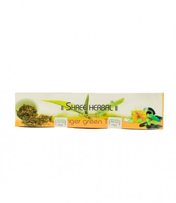 Shree Herbal Organic Ginger Green Tea (Dip)