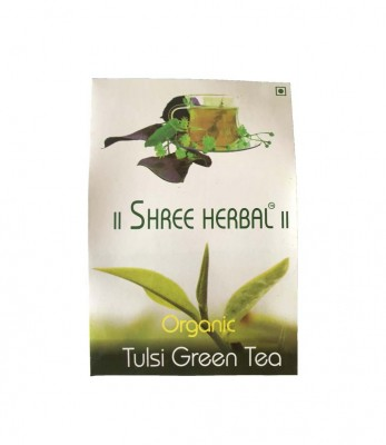 Shree Herbal Organic Tulsi Green Tea