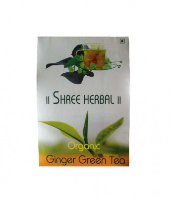 Shree Herbal Organic Ginger Green Tea
