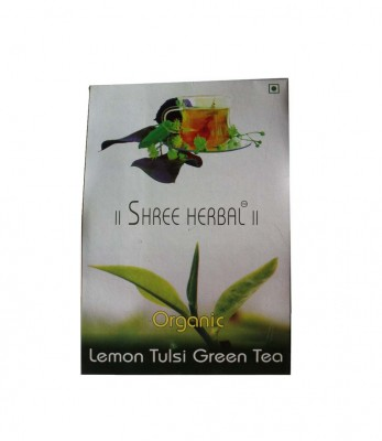 Shree Herbal Organic Lemon Tulsi Green Tea