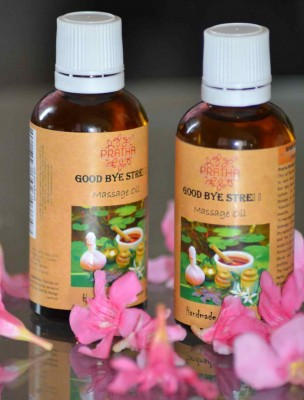 Pratha Naturals And Handmade Good bye Stress Massage Oil