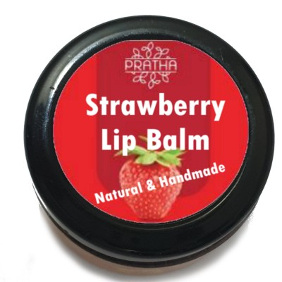 Natural Strawberry Lip Balm