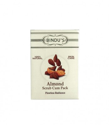 Bindus Herbal Almond Scrub & Pack