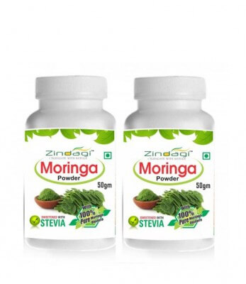 Zindagi Moringa Powder (Pack Of 2)