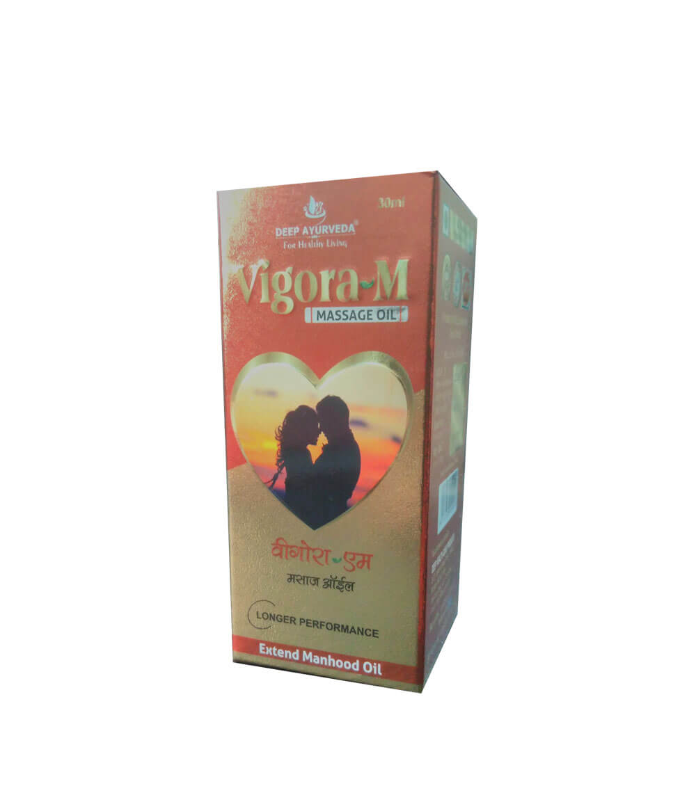 Deep Ayurveda Vigora M Herbal Oil Online Buy Ayurvedic Products