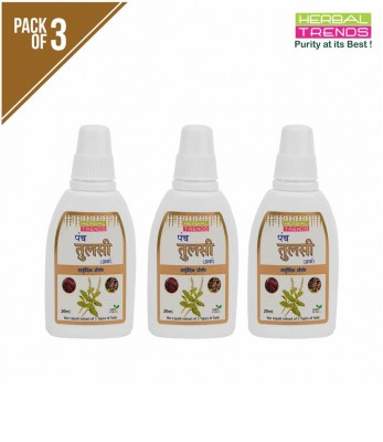 Herbal Trends Panch Tulsi Pack of 3