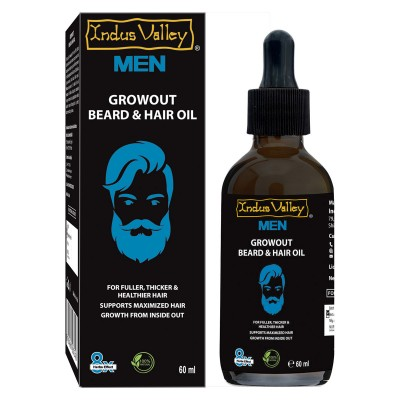 Indus Valley Growout Beard & Hair Oil