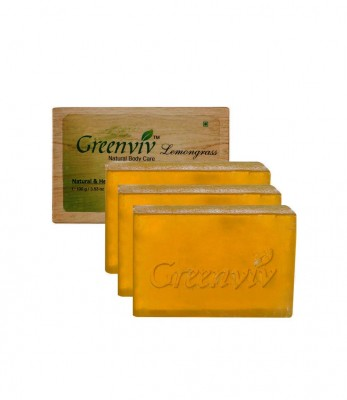 Greenviv Natural Lemongrass Soap