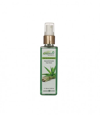 Greenviv Natural Aloe-Vera & Lemongrass Face Toner