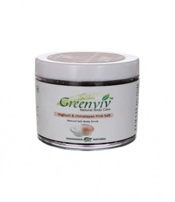 Greenviv Natural Himalayan Pink Salt Body Scrub