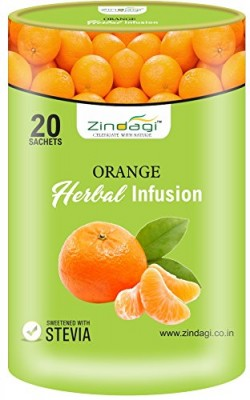 Orange Herbal Infusion - Natural Fruit Extract (20 Sachets)