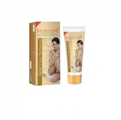 Aryanveda Gold Hair Removal Cream 40gm (Pack of 4)
