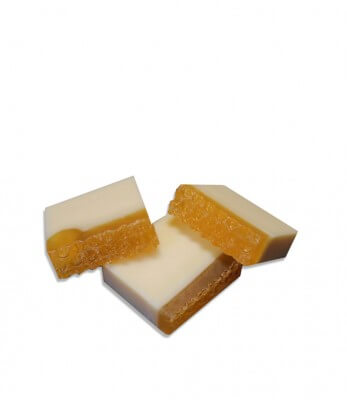 Woods and Petals Country Honey Coconut Natural Handcrafted Soap ( set of 3 )