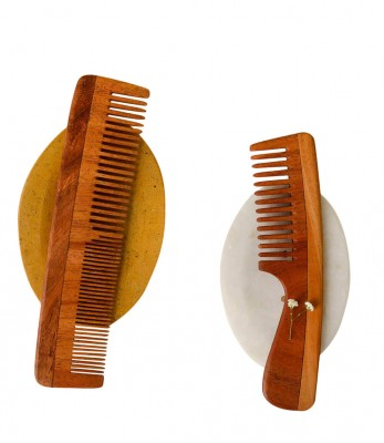Neem Wood combs ( Set of 2)