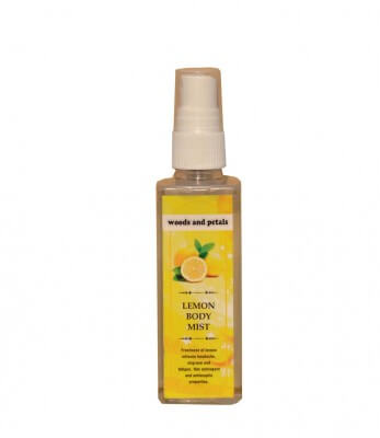 Woods and Petals Lemon Body  Mist