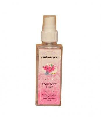 Woods and Petals Rose Body Mist