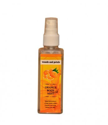Woods and Petals Orange Body Mist