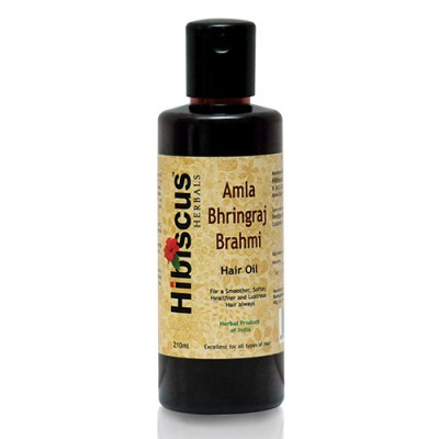 Hibiscus Herbal Amla Bhringraj Brahami Hair Oil