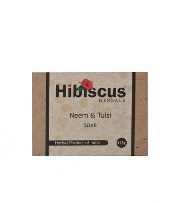 Hibiscus Herbals Neem and Tulsi soap