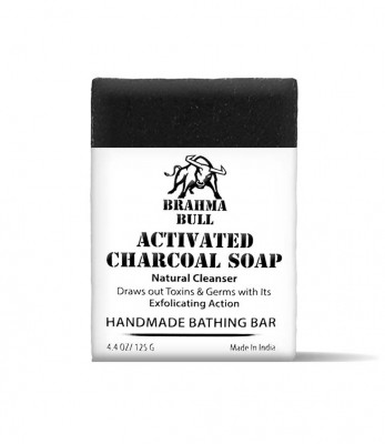 Brahma Bull Activated Charcoal Soap