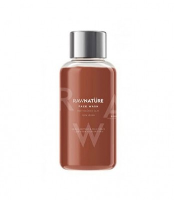 RawNature Face wash Volcanic Red Clay