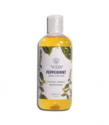 Vedi Herbals Pepperimint Liquid Castile Soap