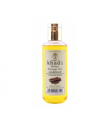 Vagads Khadi Sandalwood Massage Oil