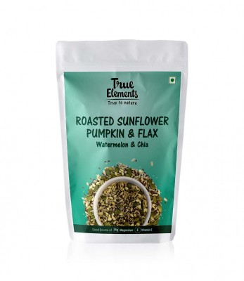 True Elements Roasted Sunflower Pumpkin And Flax Seeds Watermelon And Chia