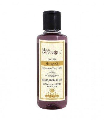 khadi Organique Lavender And Ylang Ylang Masaage Oil