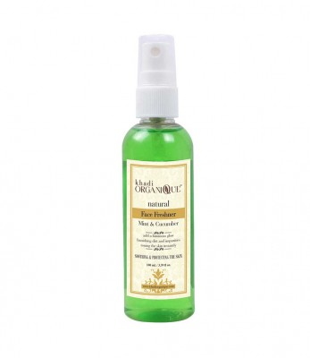 Khadi Organique Mint And Cucumber Face Freshner