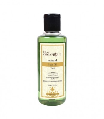 Khadi Organique Tulsi Hair Oil