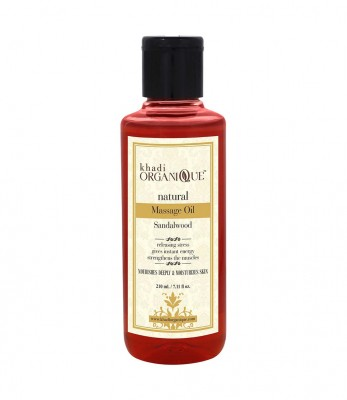 Khadi Organique Sandalwood  Massage Oil