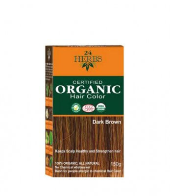 Indus Valley Organic Hair Color - Dark Brown Hair Color